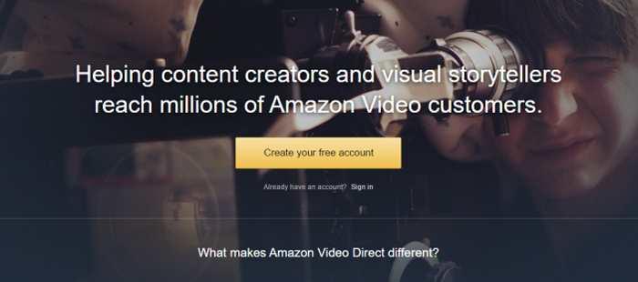 Amazon Video Direct est une attaque directe contre Youtube, mais dédiée aux créateurs professionnels