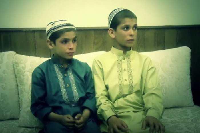 Shoaib Ahmed et Abdul Rasheed, surnommés comme les enfants du soleil.