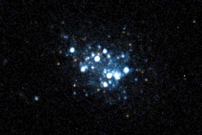 """La galaxie AGC 198691 """"Leoncino"""" est resté quasiment inchangée après le Big Bang. Son étude nous permettra de mieux comprendre l'évolution des premières galaxies."""