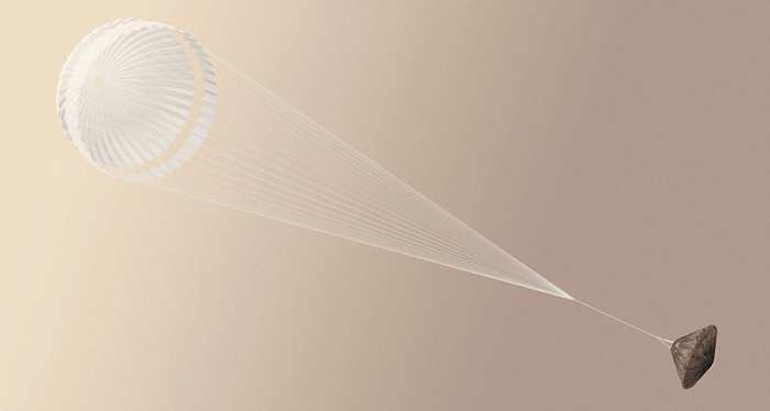 Les données montrent que l'atterrisseur Schiaparelli a amorcé sa descente vers la planète Mars, mais le contact a été perdu avec la Terre.