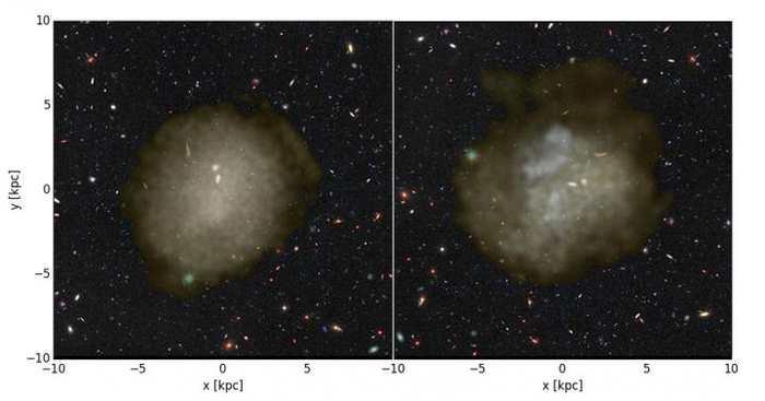 Les chercheurs révèlent des pistes sur le mystère sur les galaxies ultra-diffuses. Des galaxies avec une luminosité équivalente à une galaxie naine, mais qui sont aussi grandes que la Voie lactée.