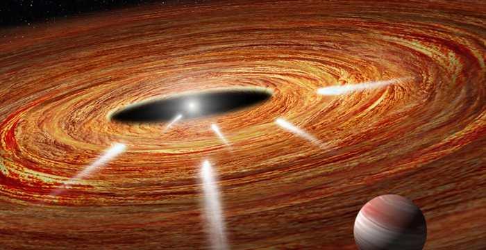 Le télescope Hubble détecte des exocomètes qui plongent dans l'étoile HD 172555 qui date de 23 millions d'années et qui est situé à 95 années-lumières de la Terre.