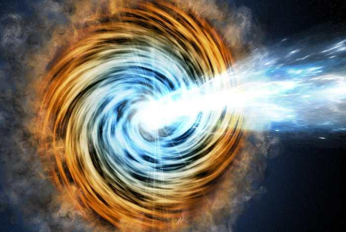 Le télescope Fermi de la NASA a identifié les blazars les plus lumineux connus jusqu'à ce jour. Un Blazar est un type de galaxie dont les émissions intenses sont alimentées par des trous noirs gigantesques. La lumière de ces blazars nous est parvenue lorsque l'univers avait seulement 1,2 milliard d'années.