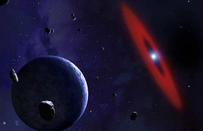 On a découvert une étoile de type naine blanche qui contient des éléments tels que du carbone, de l'azote et de l'eau. Cette naine blanche a obtenu ces éléments en déchiquetant une planète qui est devenue trop familière.
