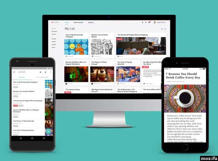 Pour sa première acquisition, Mozilla rachète Pocket qui est un service pour lire les contenus plus tard. Mozilla va sans doute se lancer dans la recommandation de contenus.