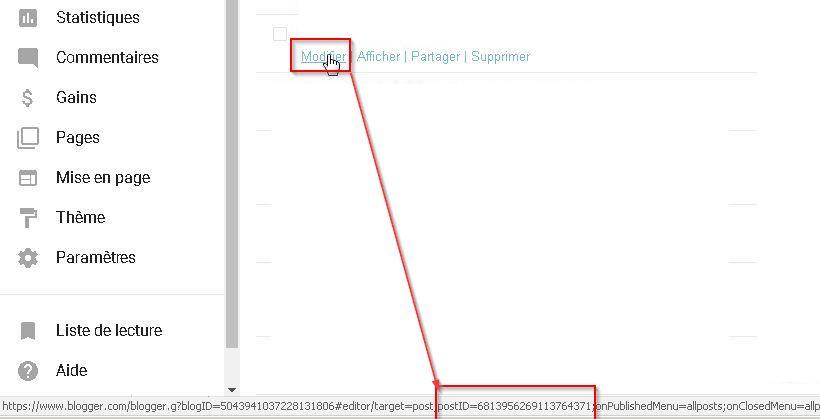 Comment bloquer des annonces Adsense dans les articles individuels dans Blogger