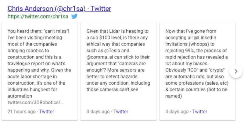 Utiliser Twitter pour apparaitre dans Google