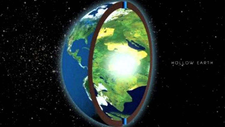 L'hypothèse de la Terre Creuse avec les Vikins, les Nazis, le mini soleil et les tribus d'Israel