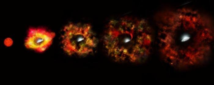 Pour la première fois, les astronomes ont pu observer une étoile mourante pour devenir un trou noir sans passer par le stade de la supernova.