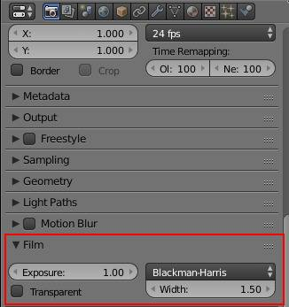 Comment créer des Backgrounds Transparents dans Blender Cycles.