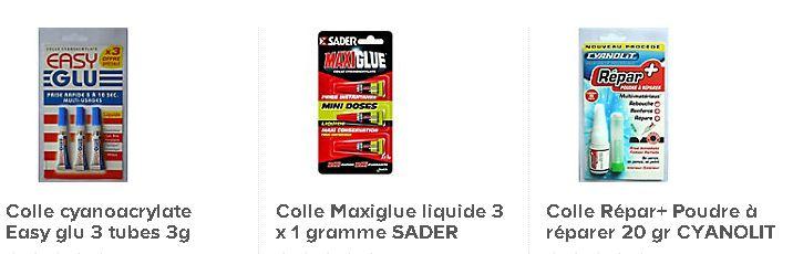 Colle cyanoacrylate