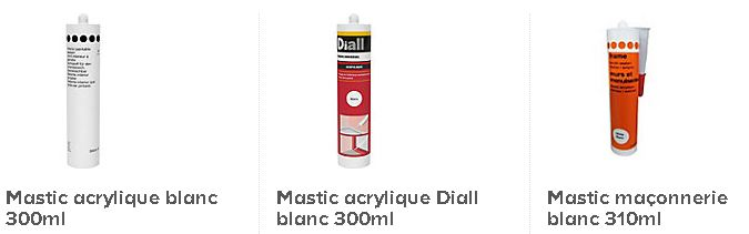 Mastic acrylique