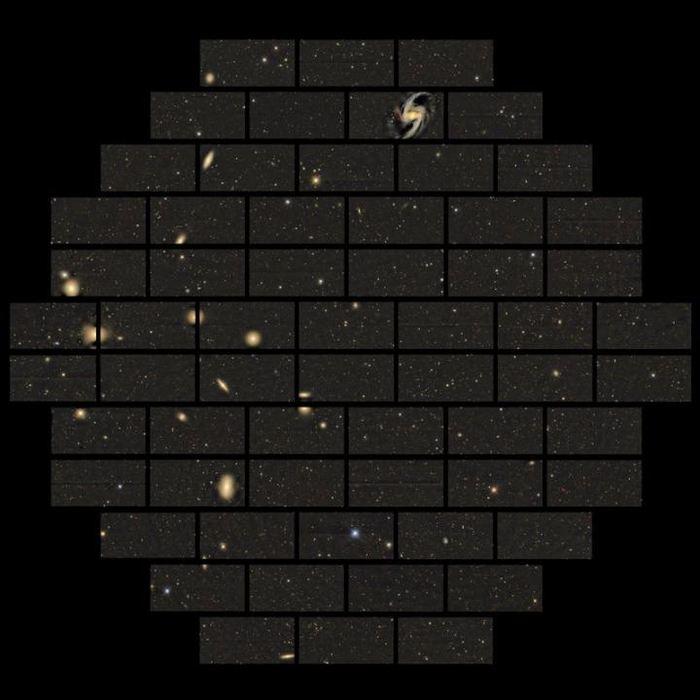 Des images prises avec la caméra DECam du Blanco Telescope - Crédit : DES collaboration