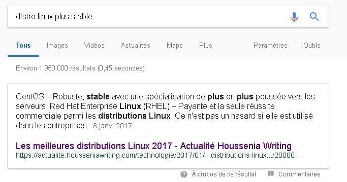 Comment optimiser sa page pour obtenir le featured snippet sur Google