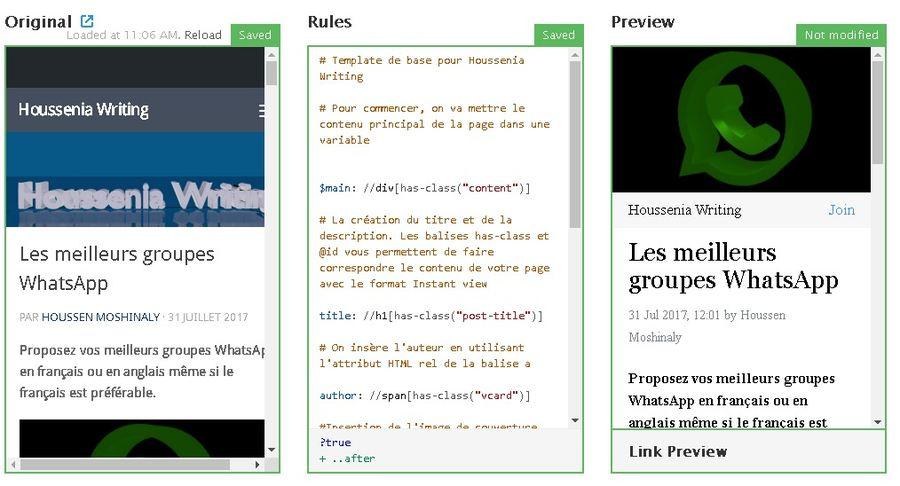 On vous propose de découvrir le format Instant View de Telegram et comment créer le template pour votre site pour qu'il soit compatible.
