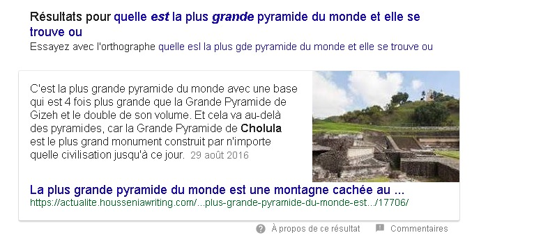 Comment obtenir un Featured Snippet pour un de ses sites sur Google