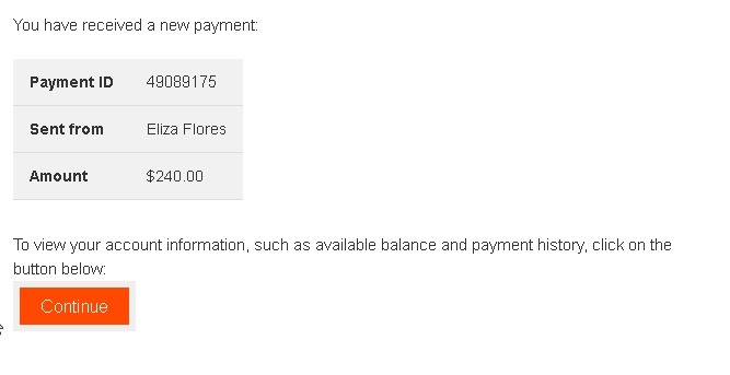Un nouveau exemple de mail scam exploitant Payoneer