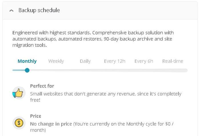 Les différentes offres payantes de sauvegarde de vos sites WordPress sur ManageWP