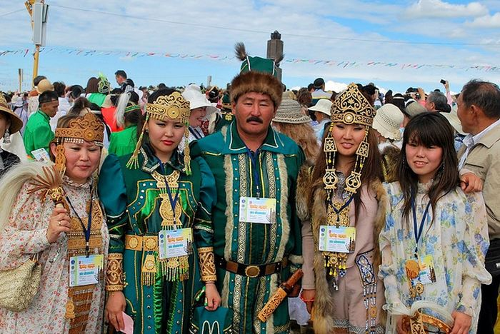 Les Yakut, une population autochtone en Sibérie - Crédit : warriorpublications.wordpress.com