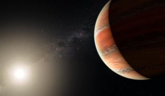 Un monde infernal avec un ciel de titane. C'est le surnom qu'on pourrait donner à l'exoplanète WASP-19b dont l'atmosphère dépasse les 2 000 degrés Celsius et on vient de découvrir que cette exoplanète contient de l'oxyde de titane dans son atmosphère.