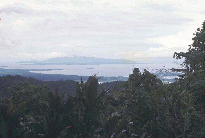 Une vue de la côte et des îles dans la province Sepik en Papouasie-Nouvelle-Guinée - Crédit : Stephen J. Oppenheimer
