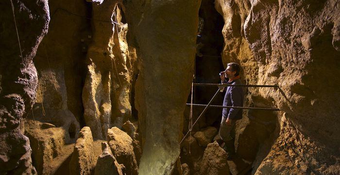 La grotte El Sidrón en Espagne - Joan Costa-CSIC Communication
