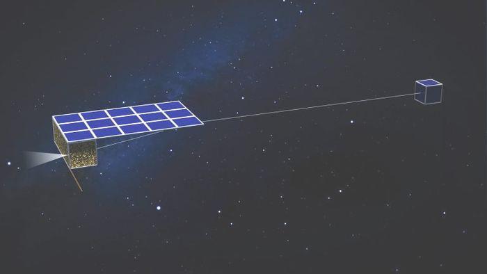 Des chercheurs proposent un concept d'une flotte de satellites miniatures (nanosats) pour visiter environ 300 astéroïdes. Ces petits satellites seraient alimentés par des voiles solaires et le cout global de la mission sera bien moindre qu'une mission traditionnelle. Mais cela reste un concept sur le papier même si les nanosats prennent de l'ampleur ces dernières années.