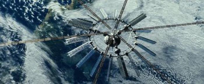 Le satellite de géo-ingénierie dans le film Geostorm