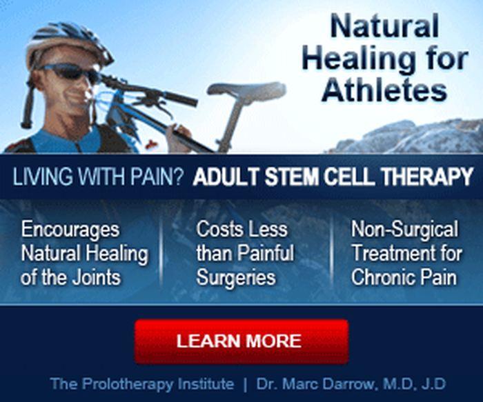 Le genre de publicité des cliniques vantant la thérapie des cellules souches