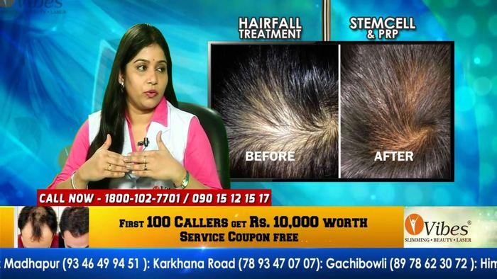Une publicité indienne vous promettant de soigner la perte de vos cheveux via les cellules souches