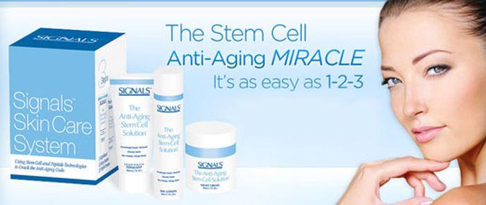 Des cellules souches anti-vieillesse. Dès qu'on parle d'arnaque, vous pouvez être sûr que les cosmétiques sont dans le coup