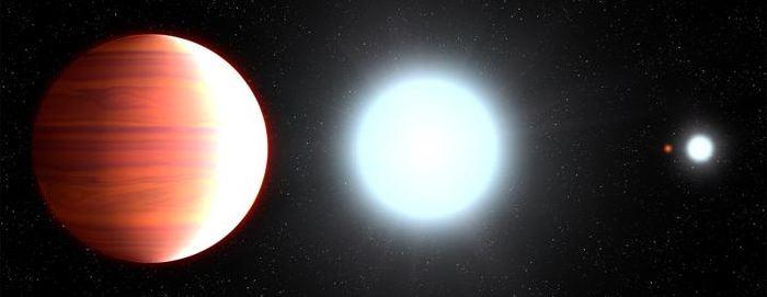 Illustration d'artiste de l'exoplanète Kepler-13Ab - Crédit : NASA, ESA, and G. Bacon (STScI)