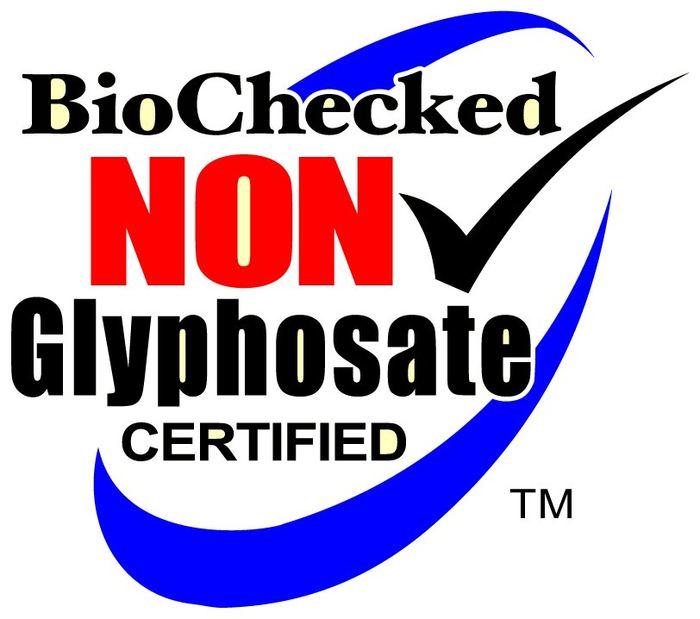 Le label sans glyphosate de BioChecked
