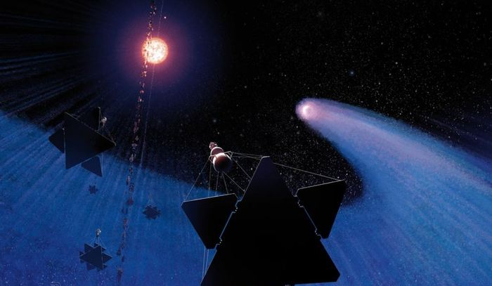Les chercheurs rapportent des observations intéressantes sur l'exoplanète GJ436. En premier lieu, c'est un système planétaire totalement inversé (avec une rotation au niveau des poles). Et les calculs montrent l'existence d'une autre exoplanète dans ce système. GJ436 est très étrange, car on l'a surnommé comme la planète chevelue, car elle s'évapore comme une comète à cause de son énorme nuage de gaz.