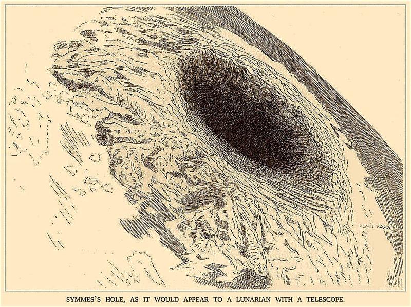 Les trous au pole Nord permettant d'aller à la Terre Creuse