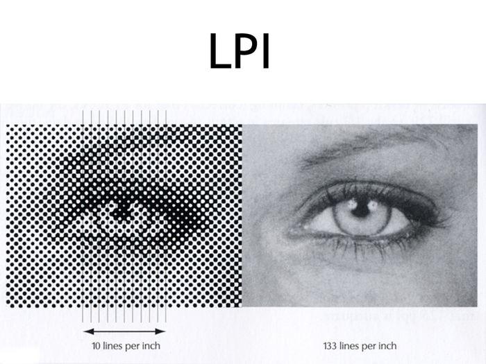 Comprendre la mesure du LPI en comparant 2 images