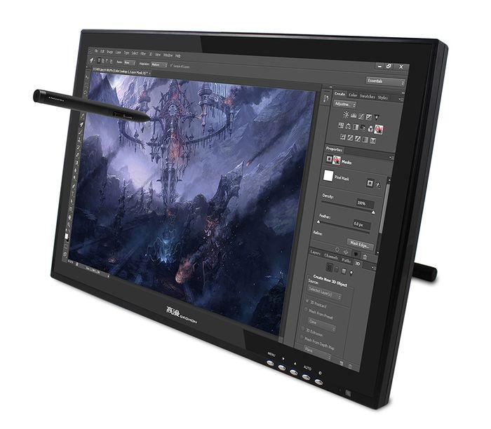 La tablette graphique GAOMON G190 avec écran propose de nombreuses options haut de gamme tout en proposant un prix inférieur à 550 euros. Toutefois, Gaomon ne peut pas rivaliser avec les modèles UGEE.