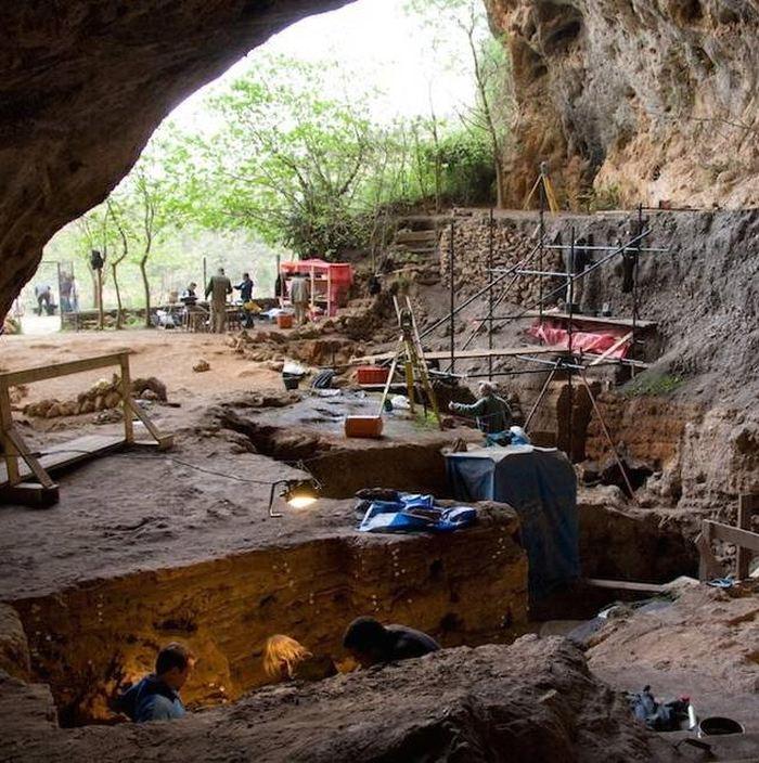 Des excavations archéologiques à la Grotte des Pigeons à Taforalt - Crédit : Abdeljalil Bouzouggar