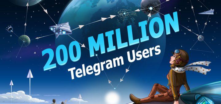Telegram franchit la barre des 200 millions d'utilisateurs et la version 4.8 propose la recherche et la suggestion des Stickers ainsi que la publication de photos multiples en même temps.