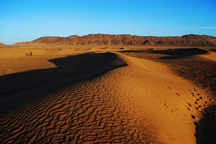 Depuis 1920, le désert du Sahara a augmenté de 10 % et cette augmentation est provoquée à la fois par des phénomènes climatiques naturels, mais également les effets du changement climatique anthropique.