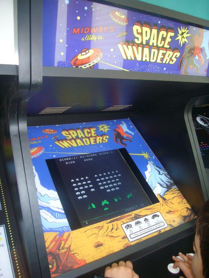 L'arcade iconique de Space Invaders - Crédit : Jordiferrer, CC BY-SA