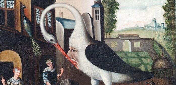 """Un tableau allégorique du 17e siècle sur la maxime """"Connais-toi toi même"""", inscrite au Temple de Delphes - Crédit : Wikimedia Commons"""