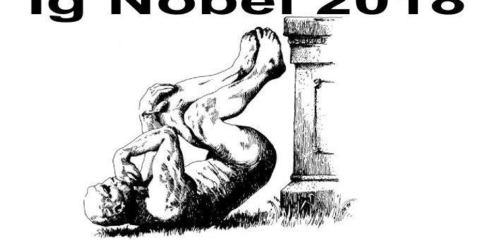 Les Ig Nobel 2018 ont été annoncés. On a le meilleur du pire de la recherche scientifique. Entre l'utilisation de montagnes russes pour faire passer des calculs rénaux, l'utilisation de poupée vaudou contre son patron abusif ou que les humains ont la fâcheuse tendance d'imiter des chimpanzés.