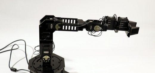 Une image du bras robotique intact utilisé pour effectuer toutes les tâches - Crédit : Robert Kwiatkowski/Columbia Engineering