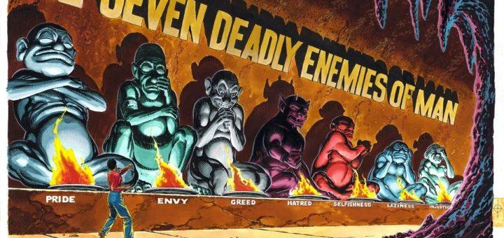 Dans le film Shazam!, il se pourrait que Les Sept Ennemis Mortels de l'Homme soient aussi de la partie. Ce sont 7 monstres inspirés des 7 péchés capitaux.