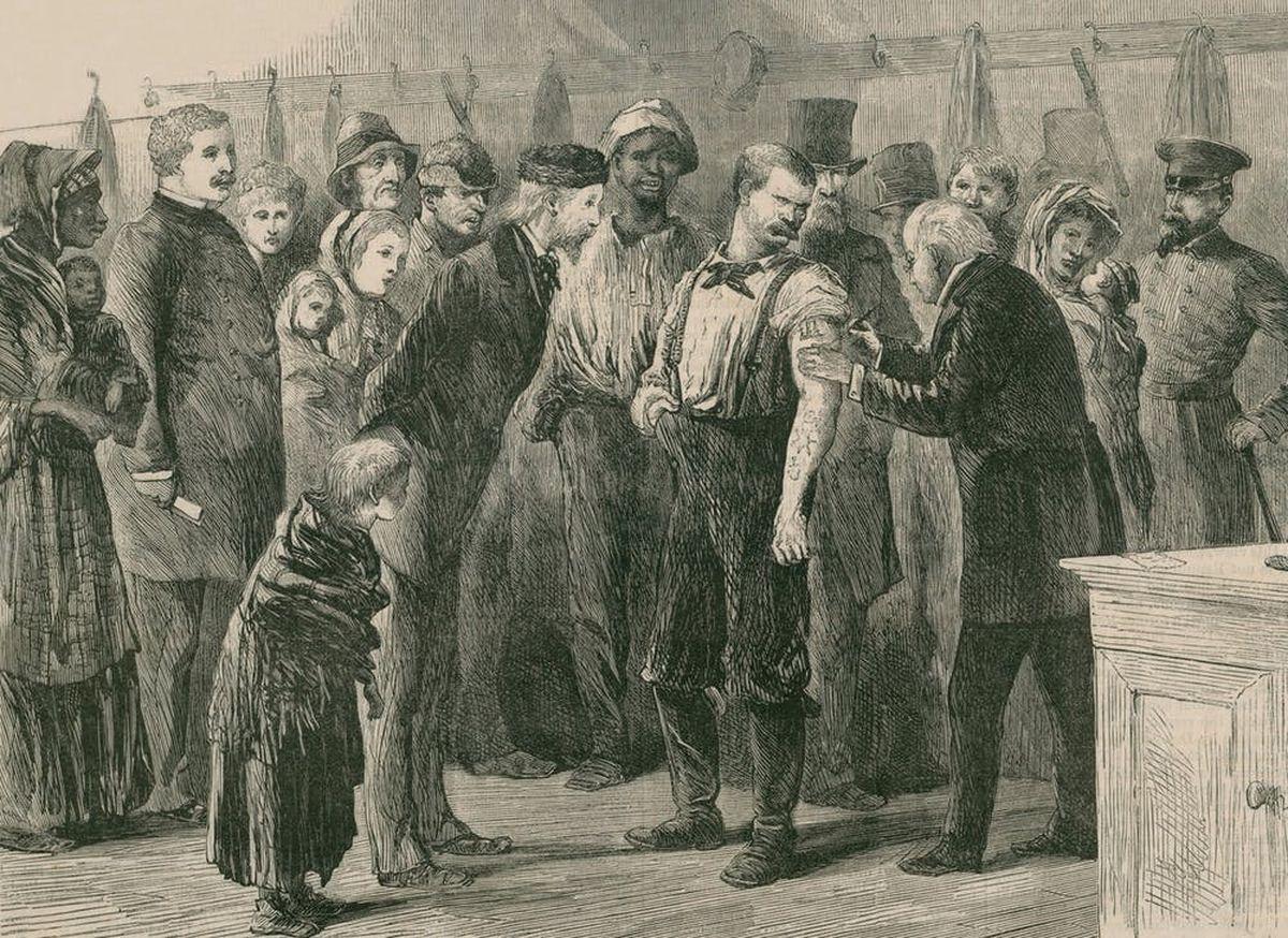 La vaccination de masse contre la variole a commencé dans la seconde moitié du XIXe siècle - Crédit : Everett Historical / Shutterstock.com