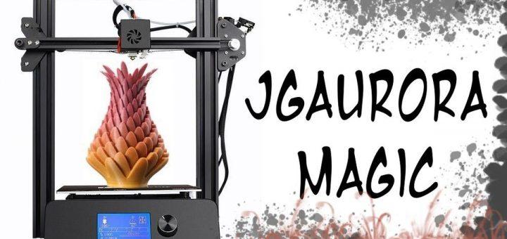 La JGAURORA Magic est une imprimante 3D qui impressionne par son impression en haute résolution. Mais le matériau et le fichier supporté sont de mauvais points.