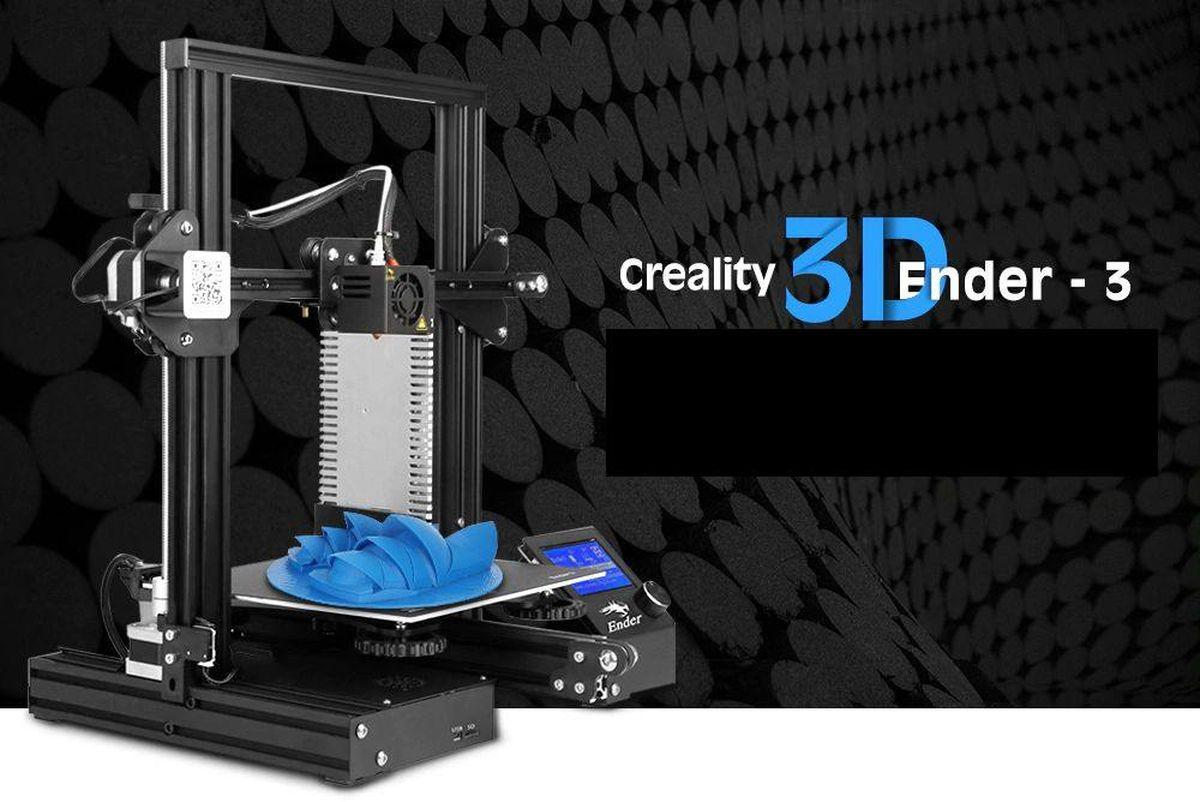 A moins de 200 dollars, la Creality3D Ender offre de bonnes performances avec des caractéristiques, équivalentes aux modèles moyen de gamme.