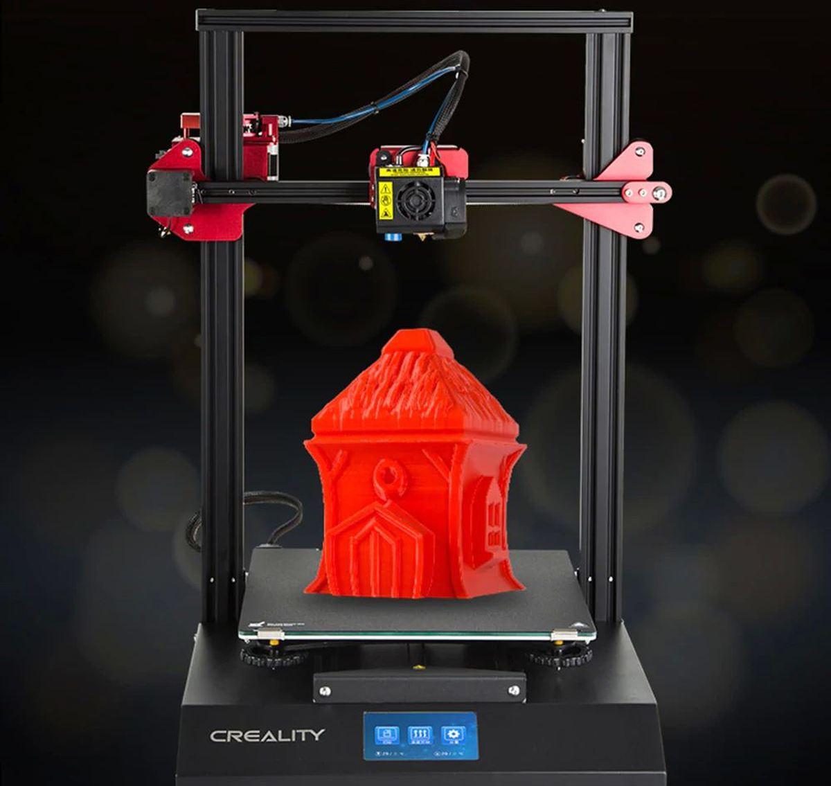 Le principal atout de la Creality3D CR - 10S Pro est sa surface d'impression de 300 x 300 x 400 mm. Mais est-ce que c'est suffisant pour justifier son prix ?