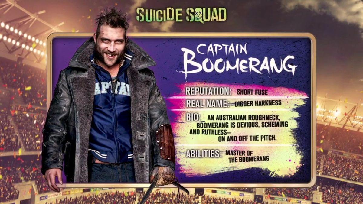 Captain Boomerang, interprété par Jai Courtney, annonce son retour dans Suicide Squad 2. La nouvelle équipe ne l'est pas tant que ça...